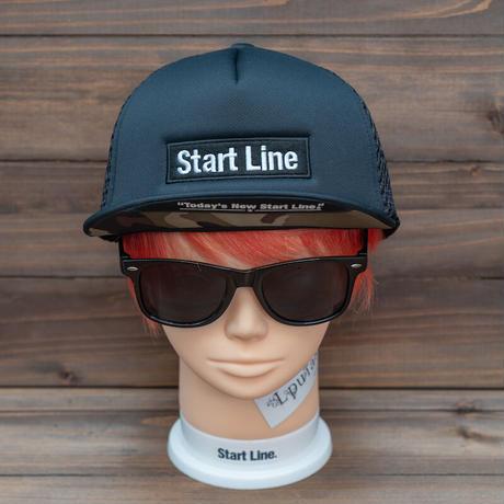 StartLine Box Logo Cap X/ボックスロゴキャップ(Black/ブラック)