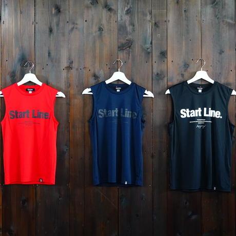 【S残り1点】World Marathon City No-sleeve/ワールドマラソンシティーノースリ(Red/レッド)