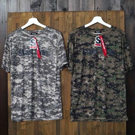 Camo  Active T-shirt/カモアクティブTシャツ(ACUCamo/エーシーユーカモ)
