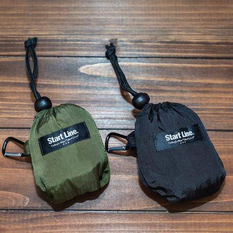 Big S Pocketable Eco Bag/ビッグエスポケッタブルエコバッグ(Black/ブラック)