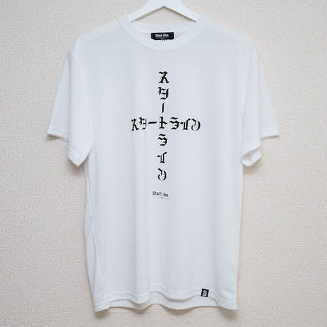スタートライン Cross T-shirt/クロスT(White/ホワイト)