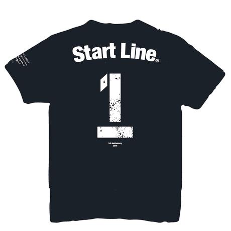 【30着限定】StartLine 1st Anniversary T-shirt/1周年記念Tシャツ(Black/ブラック)
