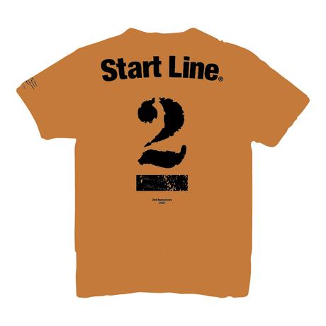 StartLine 2nd Anniversary T-shirt/2周年記念Tシャツ(Camel/キャメル)