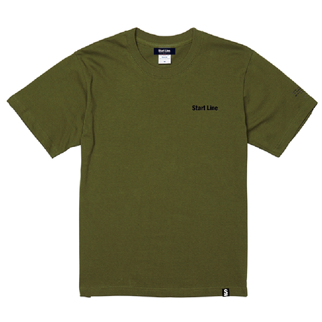 【M残り1点】StartLine 2nd Anniversary T-shirt/2周年記念Tシャツ(Khaki/カーキ)