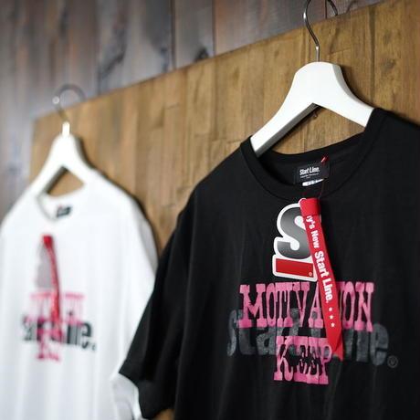 【M残り1点】MOTIVATION KEEP Round T-shirt/モチベーションキープTシャツ (Black/ブラック)