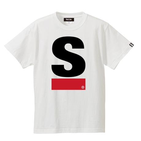 Big S Active T-shirt/ビッグエスアクティブTシャツ(White/ホワイト)