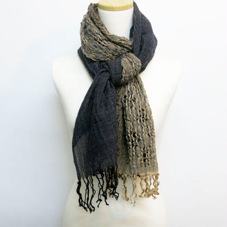 Anomaly wool stole No.5
