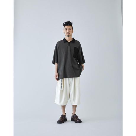 PIQUE BIG SHORTS - BLACK