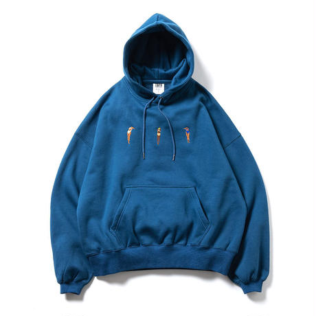 DIVE TO BLUE HOODIE   -  BLUE