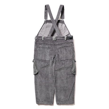 CORD COVERALL - CHARCOAL
