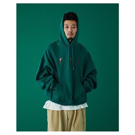 DIVE TO BLUE HOODIE - GREEN