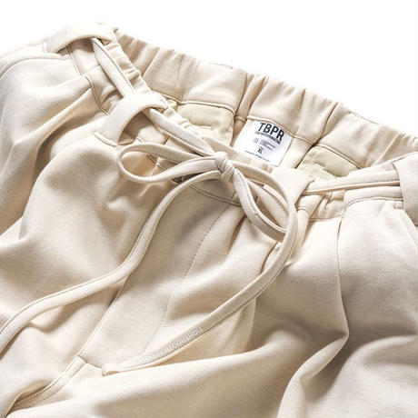 SMOOTH BAGGY SLACKS  - IVORY