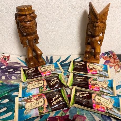 Hawaiian Host アロハマカナッツ・ミルクチョコ 6枚