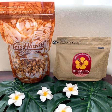 ハワイ島カウコーヒー&キャラメルクリスプ