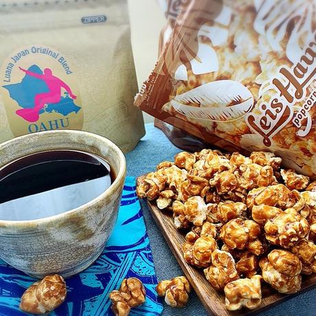 オアフ島ワイアルアコーヒー&キャラメルクリスプ
