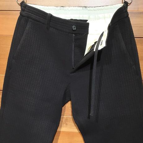TRATTO[ 31-7202013 ] ストレッチキルトストライプ【テーパードイージー】 -  ブラック(19)