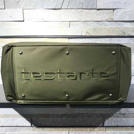 testarte [ 73-9201222 ] ナイロンキャンバスボストンBAG - カーキ(27)