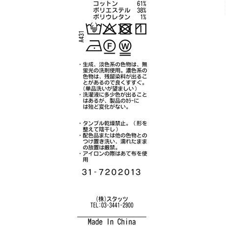 TRATTO[ 31-7202013 ] ストレッチキルトストライプ【テーパードイージー】 - グレー(15)