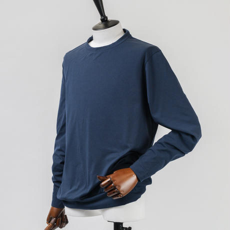 TRATTO [ 31-2212810 ] Primeflex天竺【長袖Tシャツ】- ブラック(19)