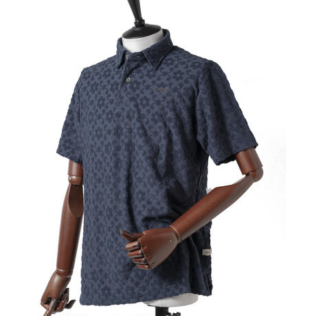 MOCO [ 21-2211341 ] パイルジャガード【半袖シャツ】 - オフホワイト(05)