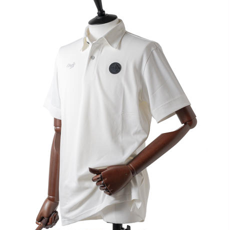 MOCO [ 21-2211442 ] 涼しやフルダルストレッチカノコ【半袖シャツ】 - オフホワイト(05)