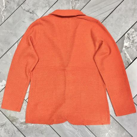 JWO [ 41-4211120 ] Hockeyニットジャケット - オレンジ(35)