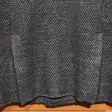 JWO [41-4202910 ] メランジブークレーニットジャケット【WBWB-6B】- ブラック(19)