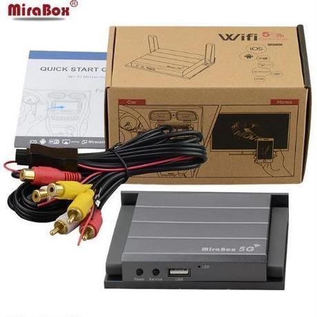 Mirabox 5G car WiFi ミラーリングボックス ディスプレイシステム