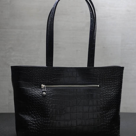 【 Emboss Crocodile Leather Tote Bag 】Color order product
