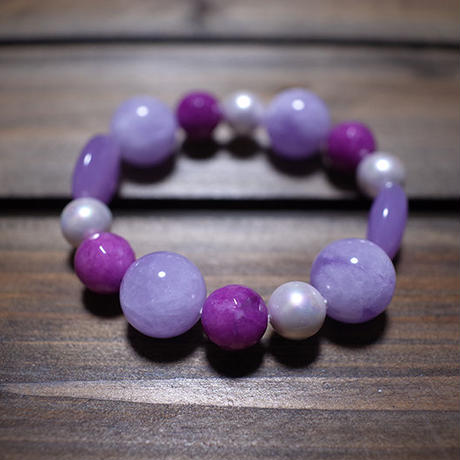 【 Balance Bracelet 400 / Various Forms of Amethyst 】一点物セール企画品 ( Modern Pirates Care )