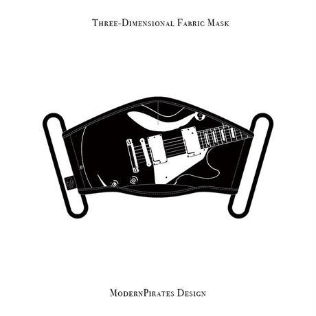 * Limited Items * Three-Dimensional Mask / Les Paul design (black)