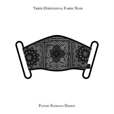 Three-Dimensional Fabric Mask / Patchy Bandana Design