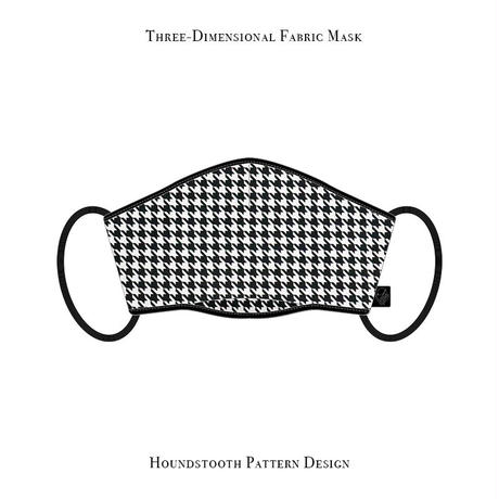 Three-Dimensional Fabric Mask / Houndstooth Pattern Design