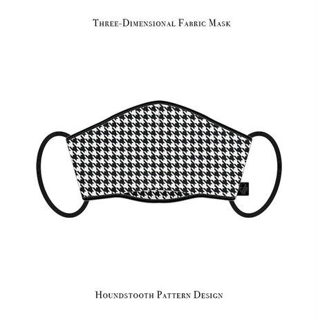 立体型 マスク / 千鳥格子 デザイン