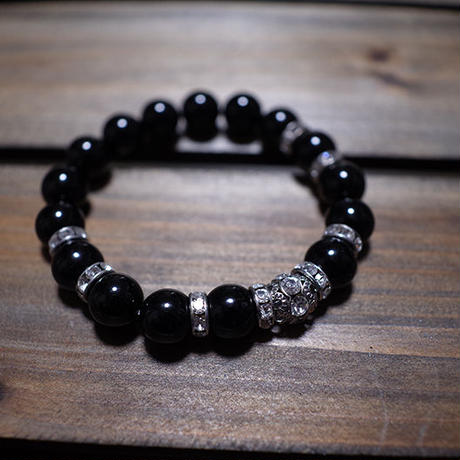【 Balance Bracelet 400 / Decoration Onyx (10mm) 】数量限定セール企画品 ( Modern Pirates Care )