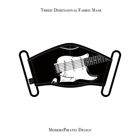 * Limited Items * Three-Dimensional Mask / Stratocaster design (black)