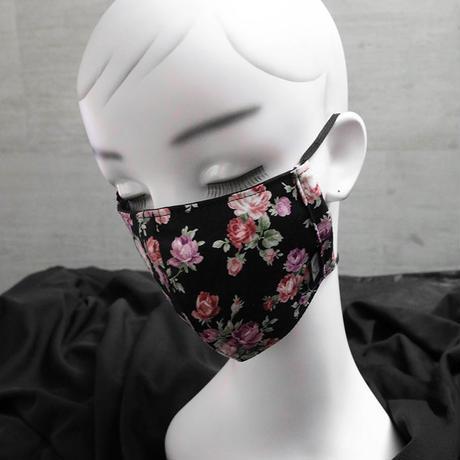 スプリット マスク / フラワー デザイン