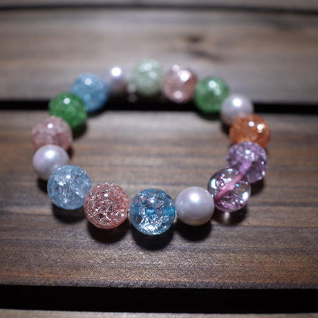 【 Balance Bracelet 400 / Crack Color Crystal 】一点物セール企画品 ( Modern Pirates Care )