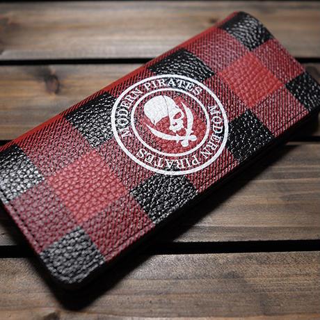 【 Leather Long Wallet / Modern Pirates Buffalo Check Design 】数量限定セール企画品 ( Modern Pirates )
