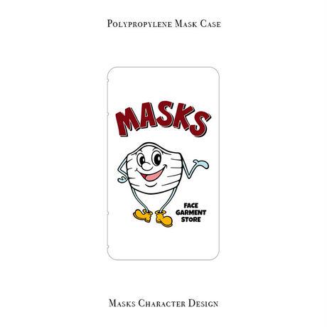 ポリプロピレン マスクケース /  MASKSキャラクター デザイン