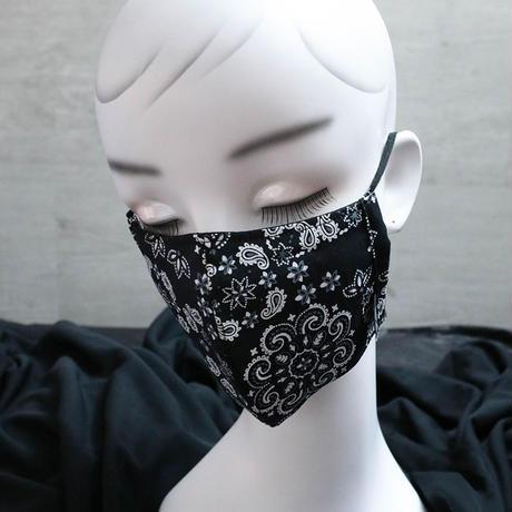 スプリット マスク / バンダナパターン デザイン