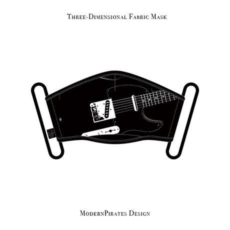 * Limited Items * Three-Dimensional Mask / Telecasterr design (black)
