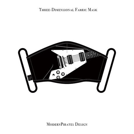 * Limited Items * Three-Dimensional Mask / Flying V design (black)