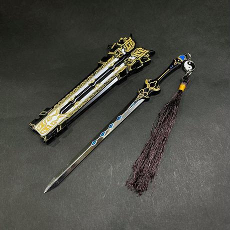 『純陽・赤霄紅蓮剣』6:1スケール金属製模型