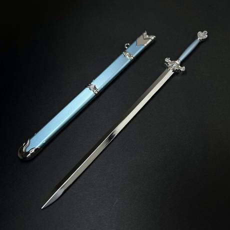 『藍景儀の剣』6:1スケール金属製模型