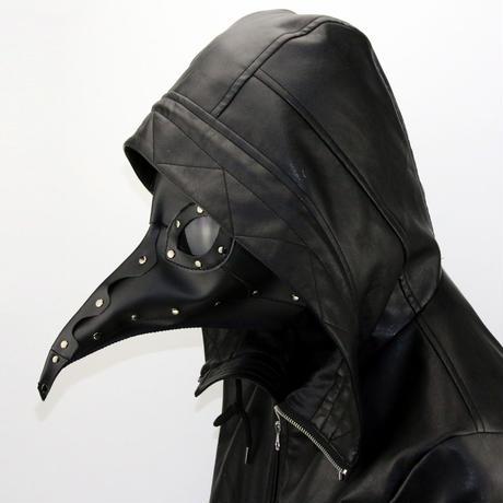 【黒】ペスト防護マスク