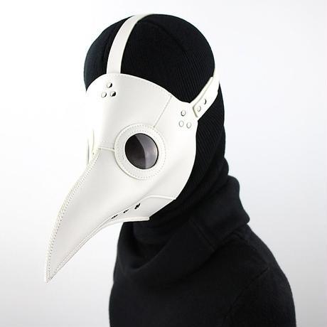 【白】シンプルタイプ ペスト防護マスク