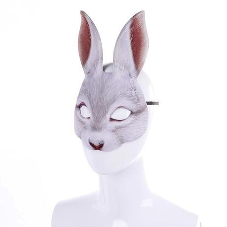 兎のマスク ホワイト