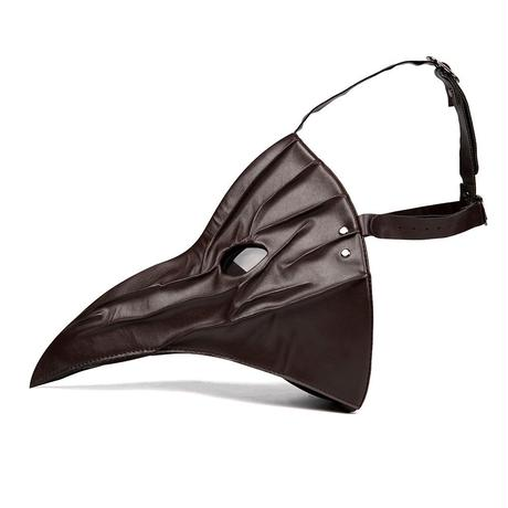 【ブラウン】目つきの悪いペスト防護マスク