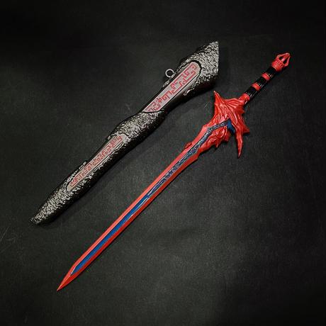 『焚寂剣』4:1スケール金属製模型